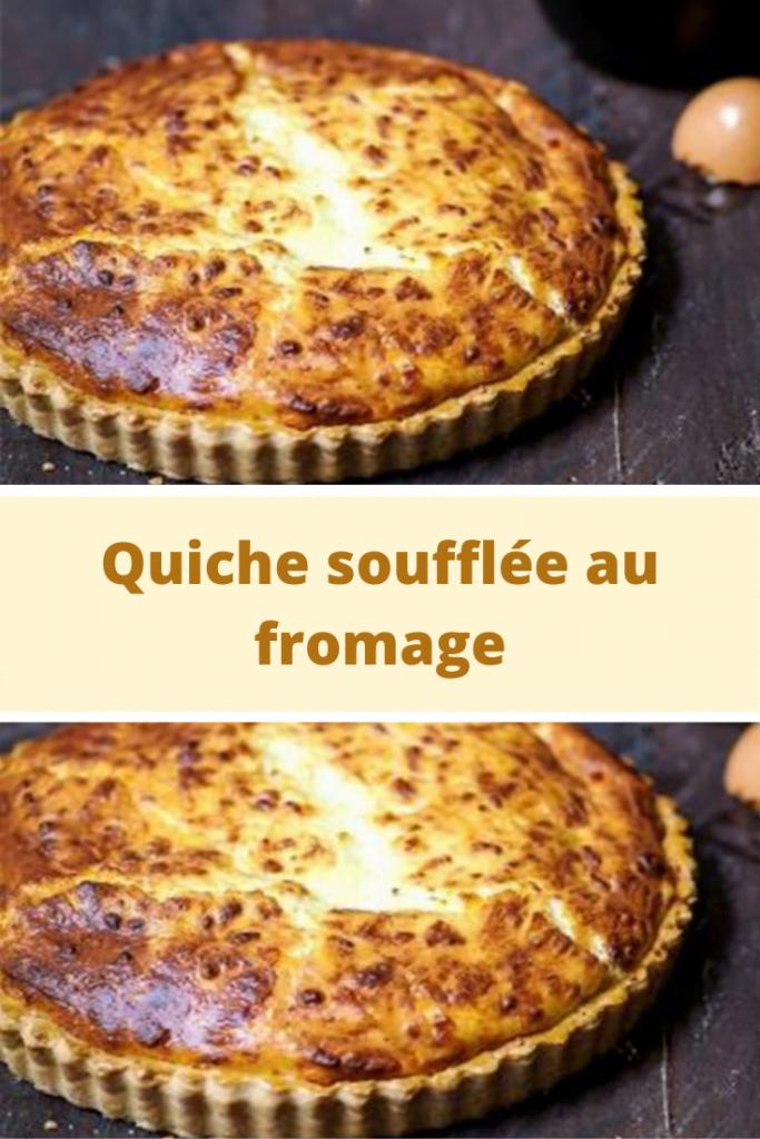 Quiche soufflée au fromage