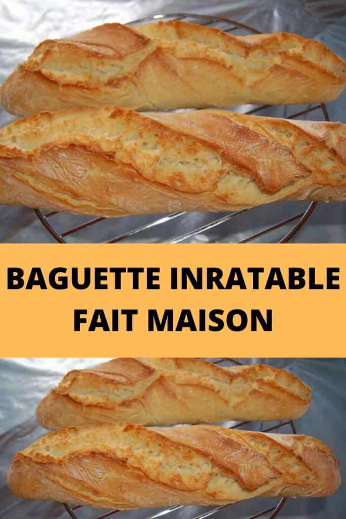 Baguette Inratable fait maison