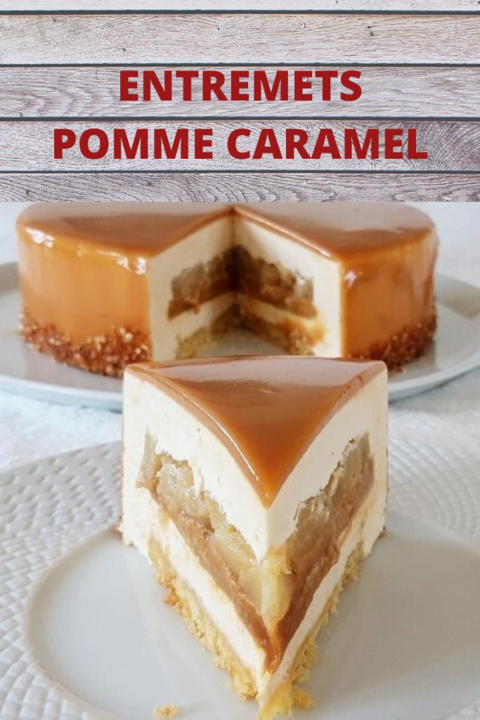 Entremets Pomme Caramel