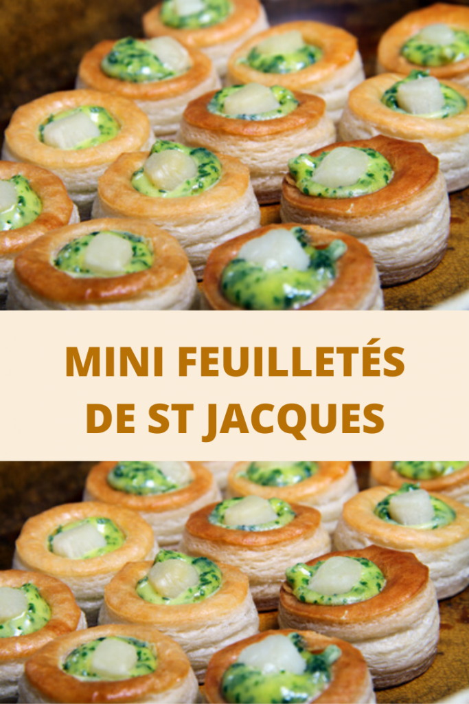 MINI aux FEUILLETÉS DE Saint JACQUES