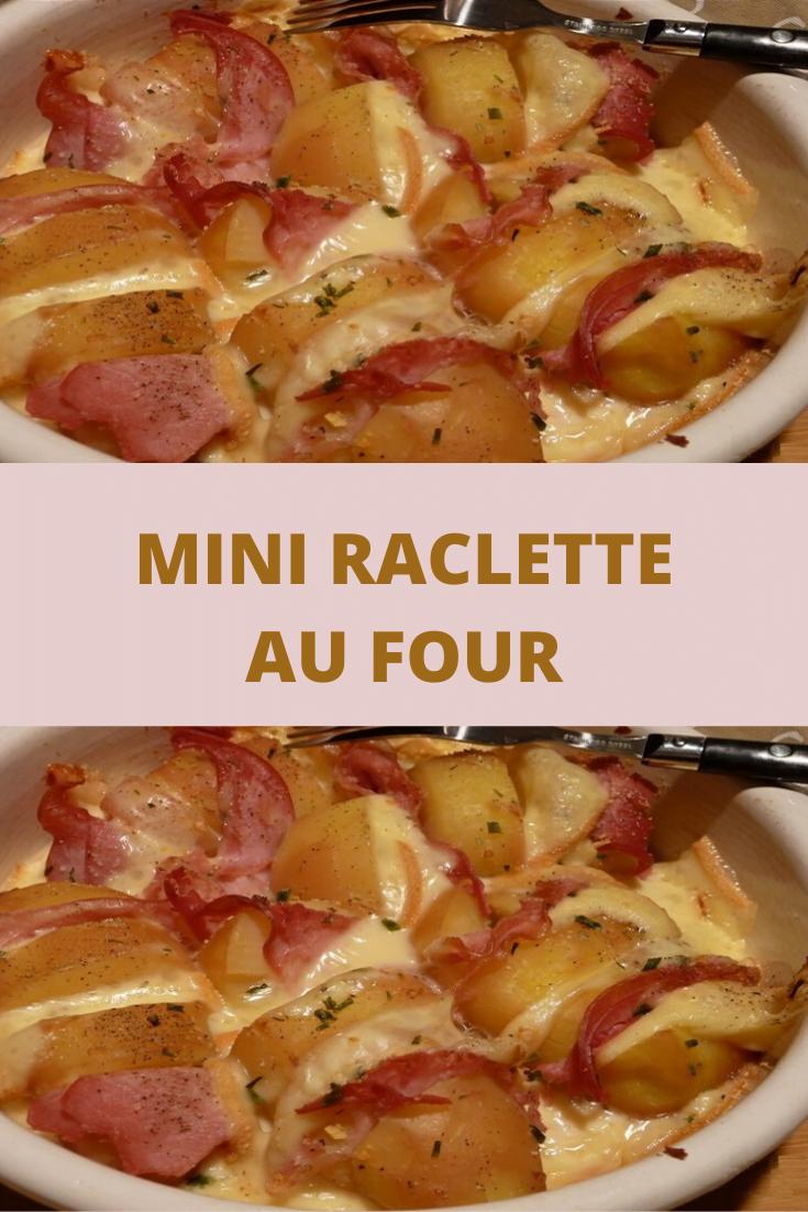Mini Raclette au four