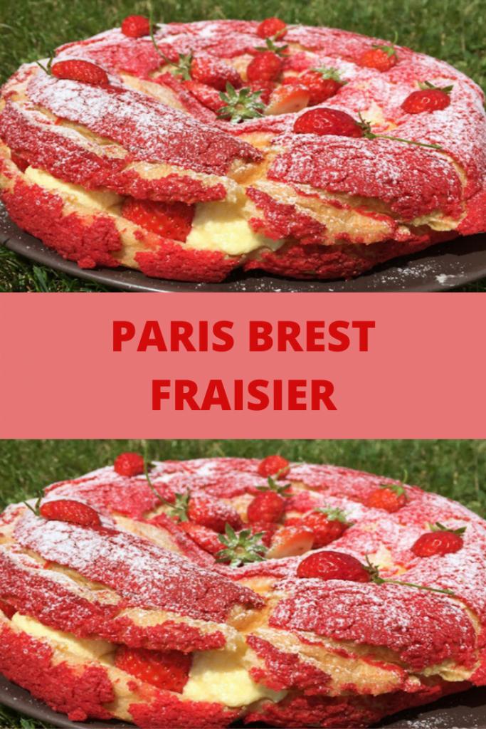 Paris Brest Fraisier