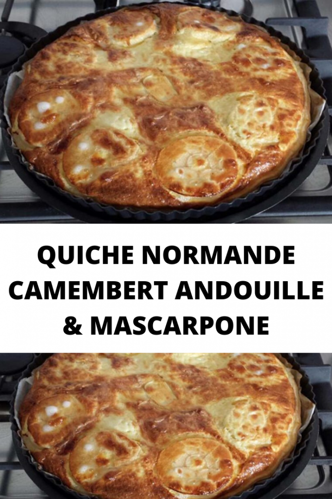 Quiche Normande Camembert Andouille & Mascarpone