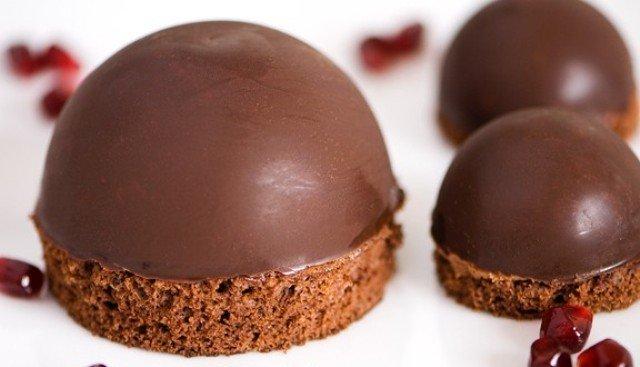 Dôme mousse au chocolat