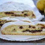 Dessert à la ricotta, aux poires et au chocolat