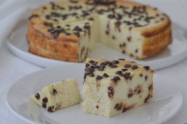 Gâteau la ricotta et pépites de chocolat