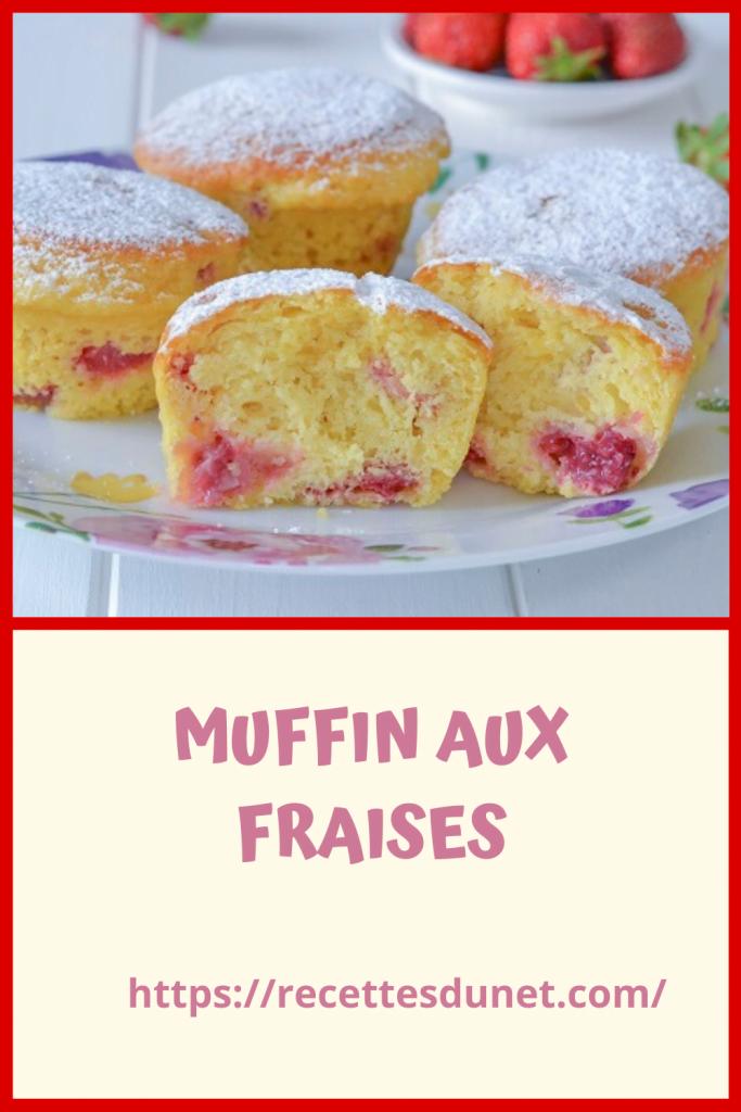 Muffins moelleux au yogourt et fraises